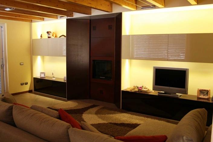 Soggiorni e salotti su misura giovanni conti interior design for Soggiorni e salotti