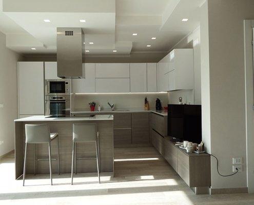 Arredamento completo per una villetta in stile moderno a Lecco, Como, Monza, Milano e Sondrio