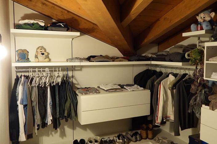 Cabina armadio su misura a Lecco, Como, Monza, Milano e Sondrio