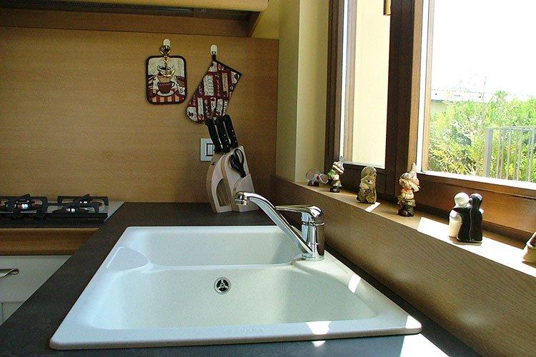 Lavandino cucina a doppia vasca a Lecco, Como, Monza, Milano e Sondrio